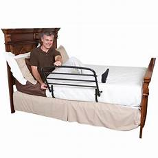 standers 30 inches safety bed rail and padded pouch side