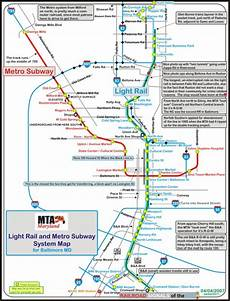Colombo Light Rail Route Map Baltimore Railfan Guide Light Rail And Metro Map