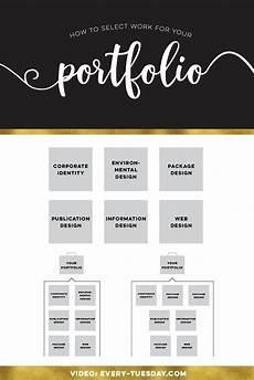 How To Make A Work Portfolio How To Select Work For Your Portfolio Graphics Videos