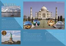 Free Travel Samples 65 Print Ready Brochure Templates Free Psd Indesign Amp Ai