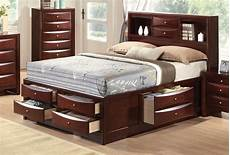 limerick transitional 6 drawer storage platform bed