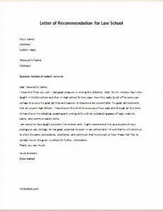 How To Write Law School Letter Of Recommendation Letter Of Recommendation For Law School Writeletter2 Com