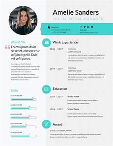Create A Job Resume Online Free Free Resume Maker Resume Builder Visme