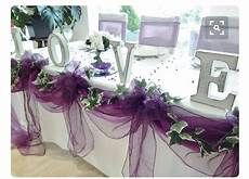 wedding table wedding table bride and groom purple