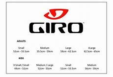 Giro Empire Size Chart Giro Size Guide