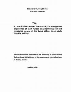Research Title Samples General Research Proposal 1
