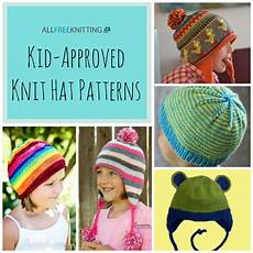 knit for kids 26 kid approved knit hat patterns allfreeknitting