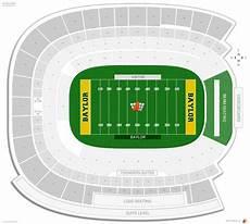 Baylor Football Seating Chart Mclane Stadium Baylor Seating Guide Rateyourseats Com