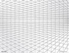 Perspective Graph Paper 2 Point Perspective Grid Transparency Sheet