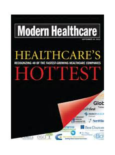 Modern Healthcare Innovative Services Inc Recognized By Modern Healthcare