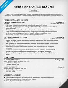 Nursing Resume Nurse Rn Resume Sample Career Tips Pinterest New