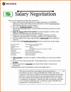 Negotiating Salary Offer Sample Salary Negotiation Counter Offer Letter Valid
