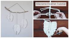 macrame how how to make a macrame feather wall hanging tutorial for