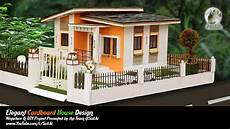 diy projects house how to make beautiful cardboard house project