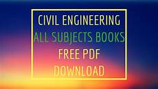 Engineering Textbooks What Is The Best Website To Download Civil Engineering