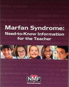 Quot Marfan Syndrome Need To Know Information For The Teacher