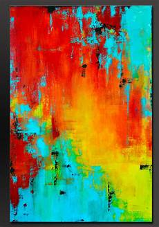 Acrylic Abstract Painting Prism 36 X 24 Abstract Acrylic Painting Contemporary