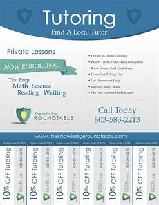 Tutoring Advertisement Cool Tutoring Flyers The Knowledge Roundtable