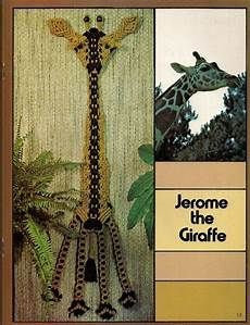 macrame animals book only 7115 macrame animal vintage indoor