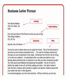 Format Of Business Letter Pdf 44 Business Letter Format Free Amp Premium Templates