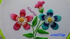 embroidery and stitch flowers bordados