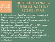 How To Make A Reference Page How To Make References In Research Paper Work