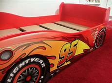 disney cars lightning mcqueen toddler bed in merthyr