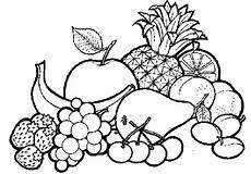 Gratis Malvorlagen Obst Ausmalbilder Obst Mandala Ausmalbilder