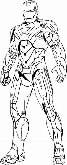 heroes iron coloring page coloring