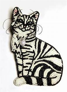 beadwork cat 188 best beaded animals and other creatures images on