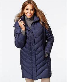 coats with plus kenneth cole plus size faux fur puffer coat in