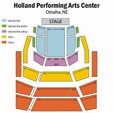 Tilles Center Seating Chart Holland Performing Arts Center Omaha Tickets Schedule