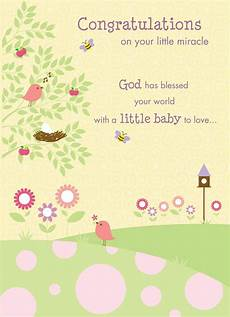 Congratulations Sayings For New Baby Congratulations On Your New Miracle Baby Greetings