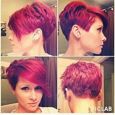 kurzhaarfrisuren frauen rote haare pin on haare und mode