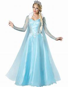 Light Blue Costume Light Blue Snowflake Snow Princess Ice Queen Womens