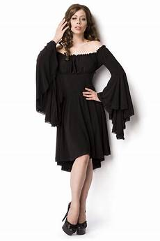 trumpet sleeve dresses for black jersey knee length dress with trumpet sleeves 54 95