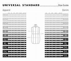What Is My Size Chart Size Guides Universal Standard