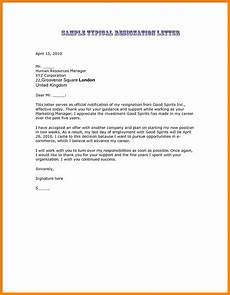 Nice Resignation Letter 8 Good Resignation Letters Examples Resignition Letter