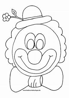 ausmalbilder clown kostenlos malvorlagen zum ausdrucken