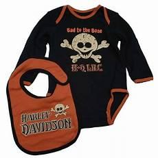 harley davidson baby clothing boys one bib gift