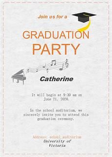Graduation Celebration Invitations Graduation Celebration Invitation Free Graduation
