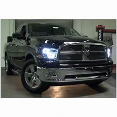2016 Ram Light 2009 2016 Dodge Ram Dual Angel Eye Halo Amp Led Projector