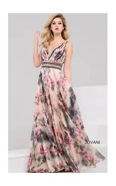 jovani dresses womens multi floral maxi dress womens