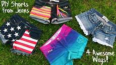 diy clothes 4 diy shorts projects from easy