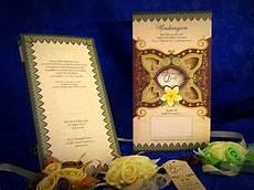media kreasi undangan pernikahan khitanan