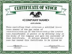 Company Certification Sample 22 Stock Certificate Templates Word Psd Ai Publisher