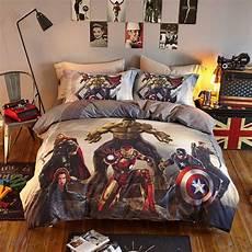 marvel heroes bedding set size