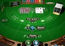 banco on line play punto banco pro series by netent free blackjack