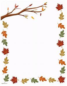 Free Fall Borders For Word Free Thanksgiving Border Printables Many Designs Available