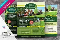 Landscaping Flyer Design Lawn Amp Landscaping Flyer Templates Flyer Templates